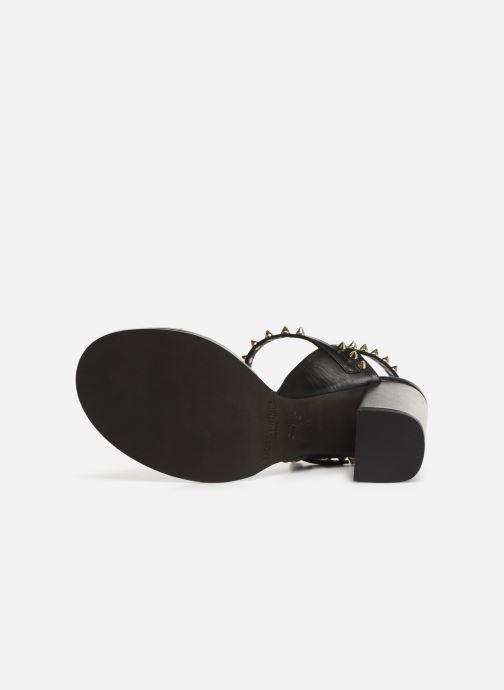 Sandales et nu-pieds Zadig & Voltaire Vogue Noir vue haut