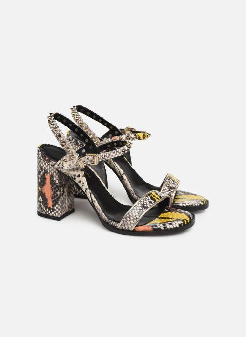 Sandales et nu-pieds Zadig & Voltaire Vogue Wild Multicolore vue 3/4