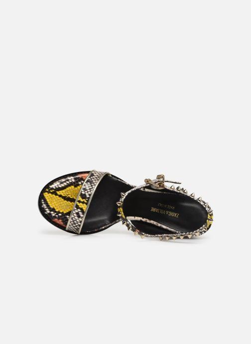 Sandales et nu-pieds Zadig & Voltaire Vogue Wild Multicolore vue gauche