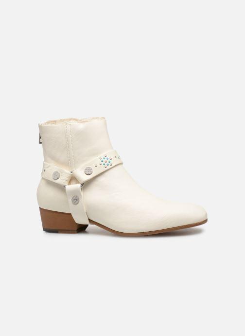 Bottines et boots Zadig & Voltaire Sonlux Crush Blanc vue derrière