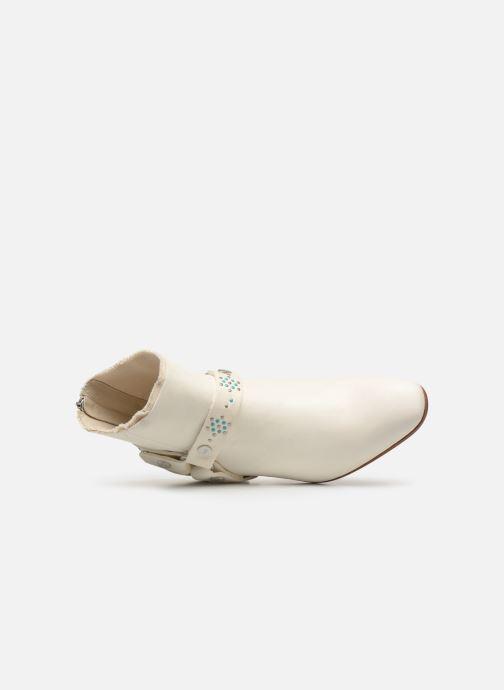 Bottines et boots Zadig & Voltaire Sonlux Crush Blanc vue gauche