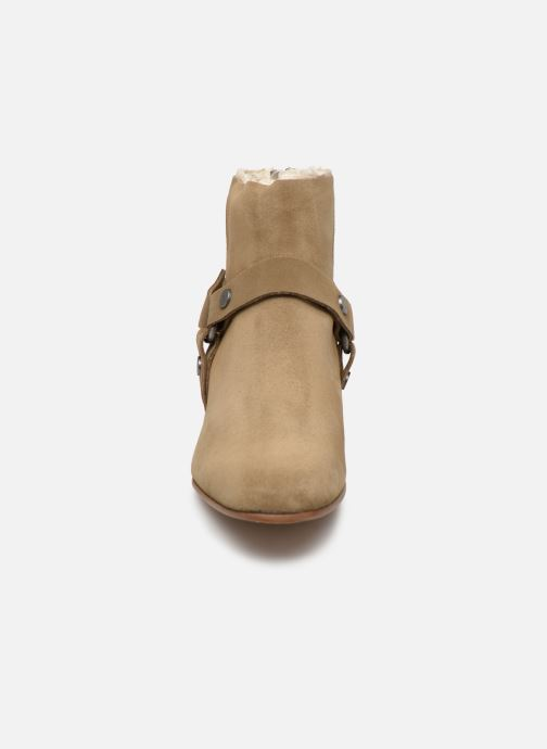 Ankle boots Zadig & Voltaire Sonlux Suede Brown model view