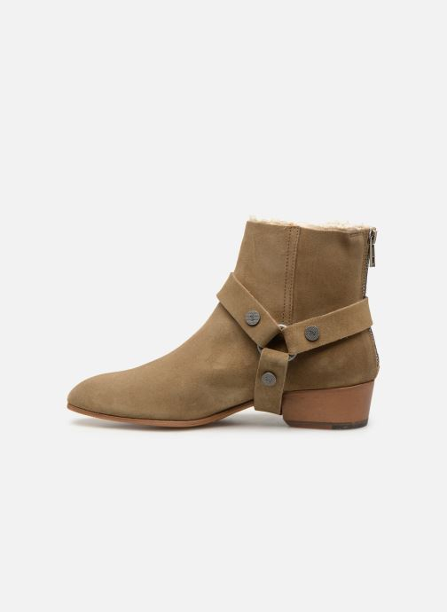 Ankle boots Zadig & Voltaire Sonlux Suede Brown front view