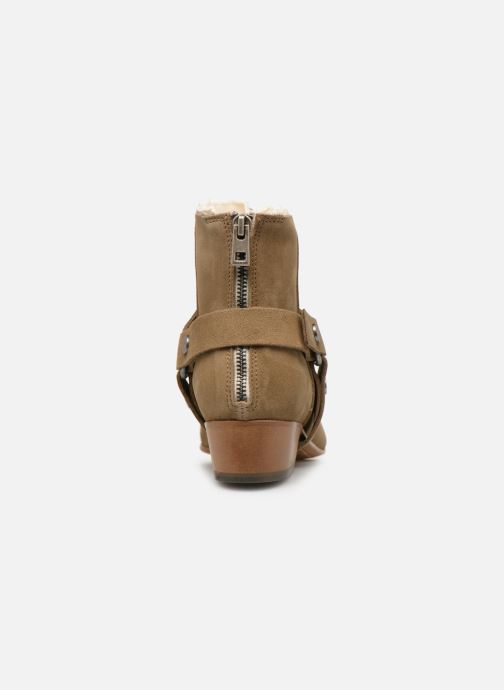 Bottines et boots Zadig & Voltaire Sonlux Suede Marron vue droite