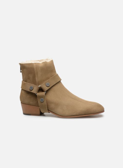 Ankle boots Zadig & Voltaire Sonlux Suede Brown back view