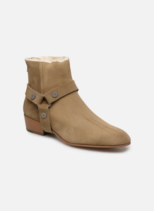Ankle boots Zadig & Voltaire Sonlux Suede Brown detailed view/ Pair view