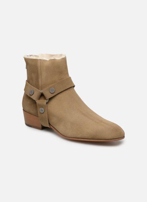 Bottines et boots Zadig & Voltaire Sonlux Suede Marron vue détail/paire