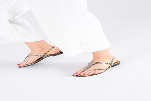 Sandales et nu-pieds Zadig & Voltaire DillonWild Multicolore vue bas / vue portée sac