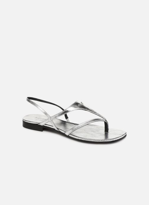 Sandales et nu-pieds Zadig & Voltaire Dillon Argent vue détail/paire