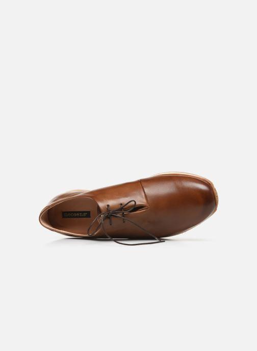 Chaussures à lacets Neosens Greco S496 Marron vue gauche