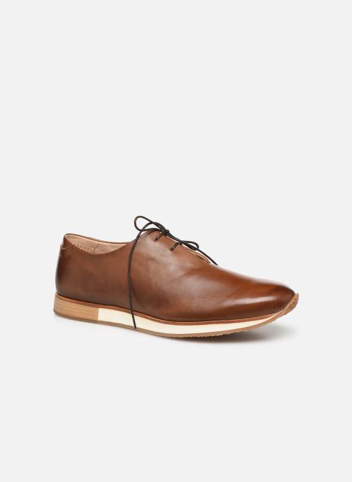 Zapatos con cordones Neosens Greco S496 Marrón vista de detalle / par
