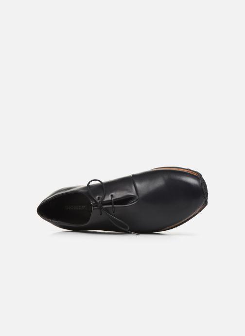 Zapatos con cordones Neosens Greco S496 Negro vista lateral izquierda