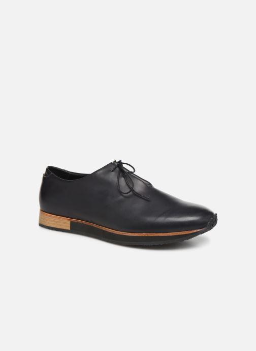 Zapatos con cordones Neosens Greco S496 Negro vista de detalle / par