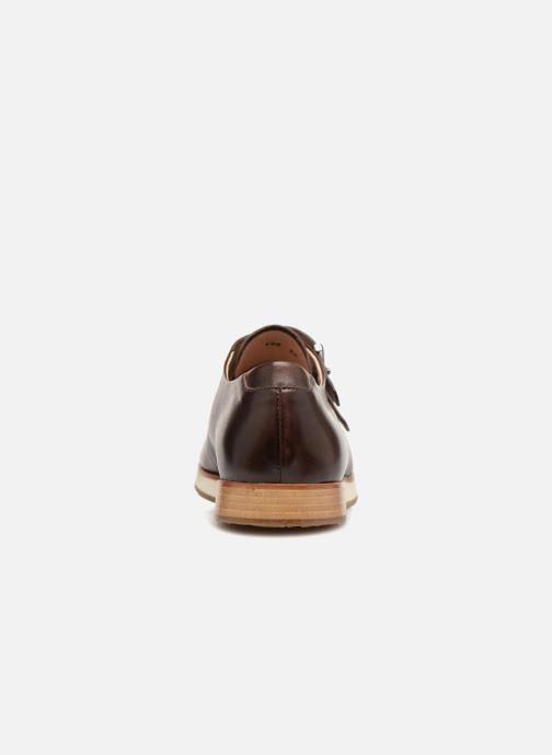 Zapato con hebilla Neosens Greco S498 Marrón vista lateral derecha