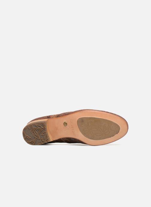 Zapatos con cordones Neosens Sultana S548 Marrón vista de arriba