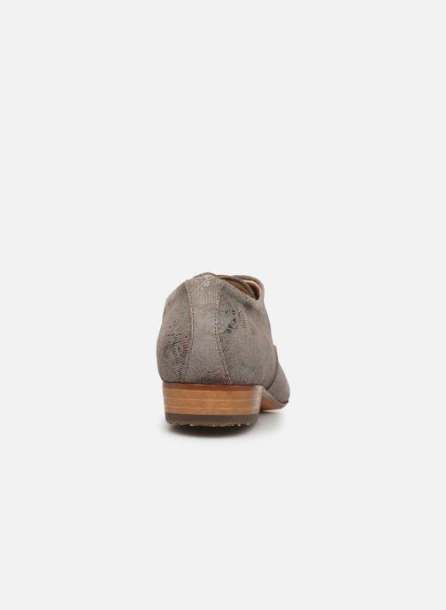 Zapatos con cordones Neosens Sultana S548 Gris vista lateral derecha