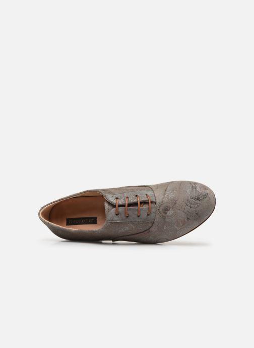 Zapatos con cordones Neosens Sultana S548 Gris vista lateral izquierda