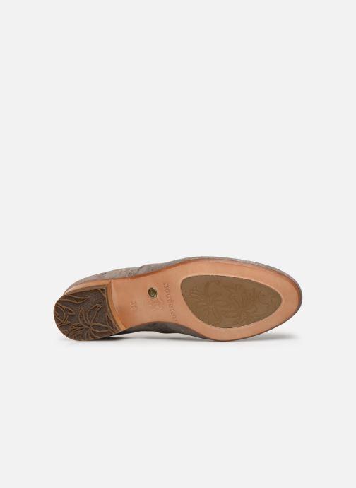 Zapatos con cordones Neosens Sultana S548 Gris vista de arriba
