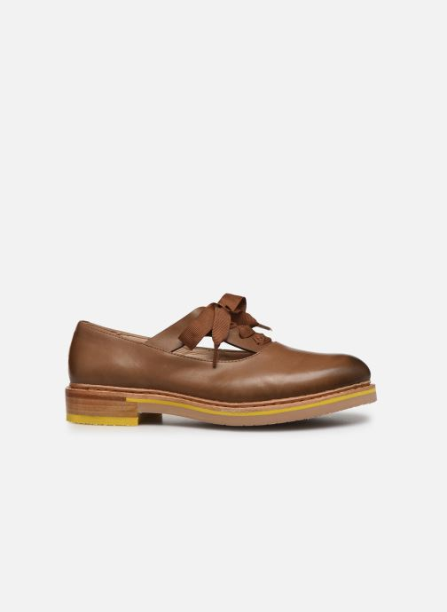 Zapatos con cordones Neosens Albilla S926 Marrón vistra trasera