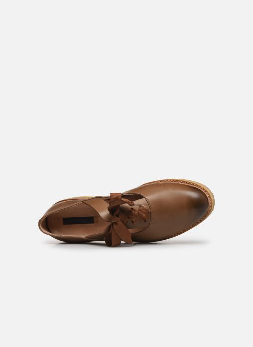 Zapatos con cordones Neosens Albilla S926 Marrón vista lateral izquierda