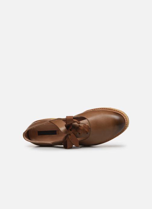 Chaussures à lacets Neosens Albilla S926 Marron vue gauche