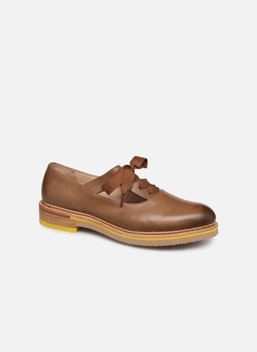 Zapatos con cordones Neosens Albilla S926 Marrón vista de detalle / par