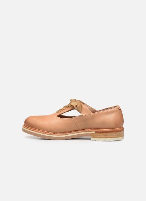 Zapatos con cordones Neosens Albilla S926 Beige vista de frente