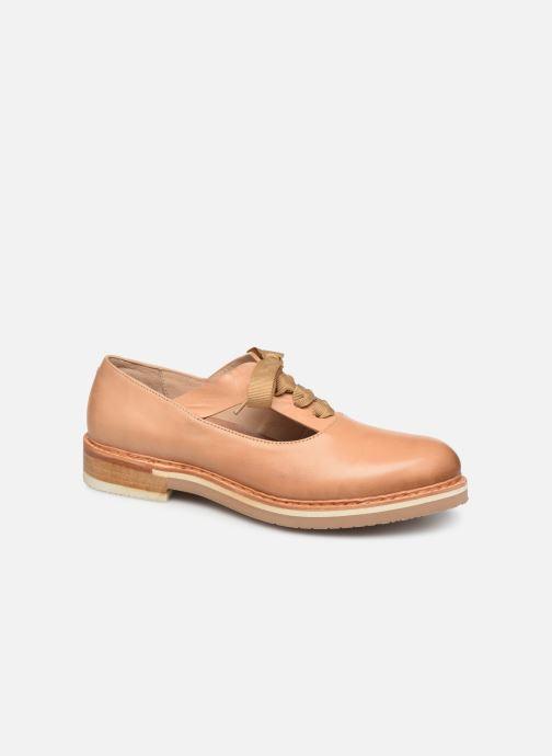 Zapatos con cordones Neosens Albilla S926 Beige vista de detalle / par