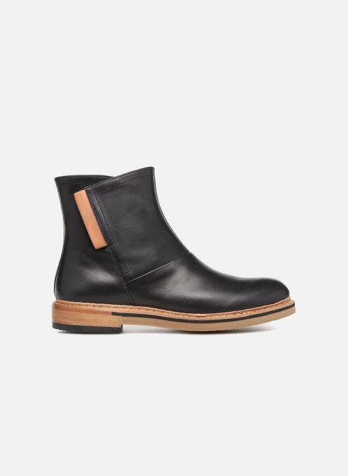 Boots en enkellaarsjes Neosens Albilla S927 Zwart achterkant