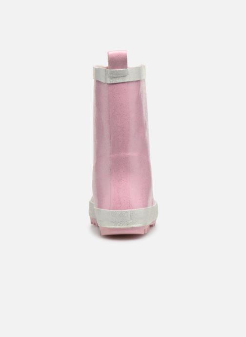Støvler & gummistøvler Be Only Ondine Rose Glitters Pink Se fra højre
