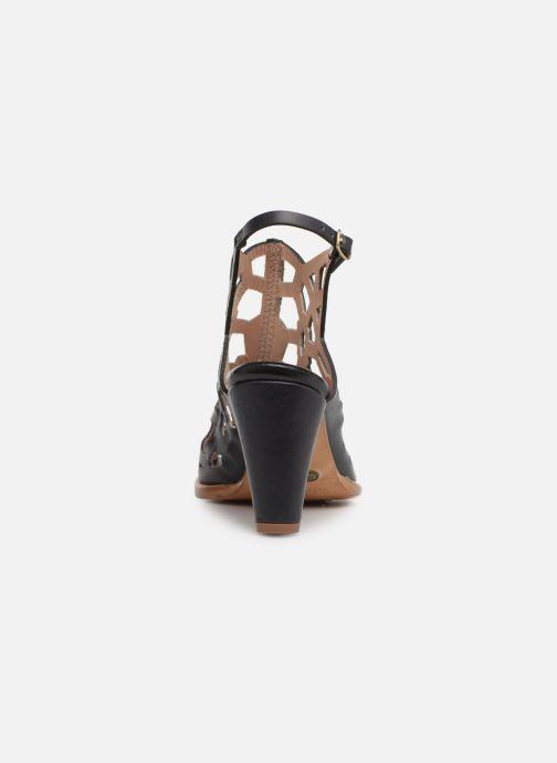 Sandalen Neosens MONTUA S998 Zwart rechts