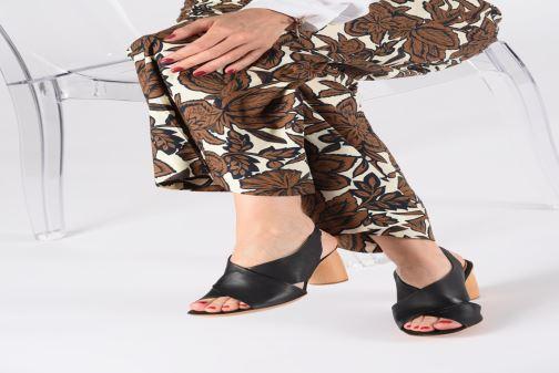 Sandali e scarpe aperte Neosens MULATA S629 Nero immagine dal basso