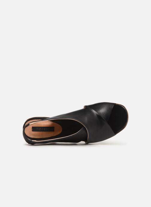 Sandali e scarpe aperte Neosens MULATA S629 Nero immagine sinistra