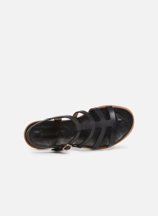 Sandalen Neosens AURORA S915 schwarz ansicht von links
