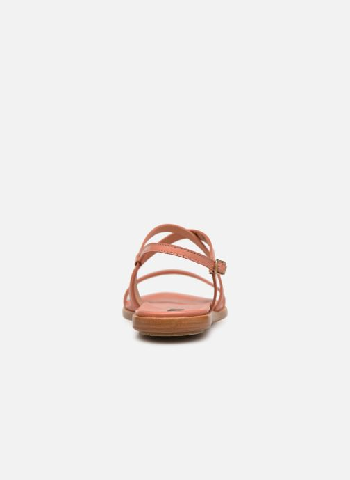 Sandalen Neosens AURORA S946 orange ansicht von rechts