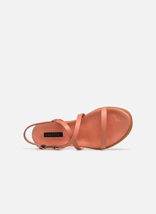 Sandalen Neosens AURORA S946 orange ansicht von links