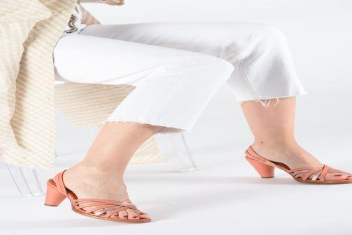 Sandales et nu-pieds Neosens MONTUA S967 Rose vue bas / vue portée sac