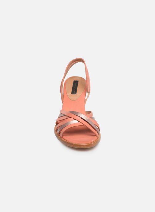 Sandales et nu-pieds Neosens MONTUA S967 Rose vue portées chaussures