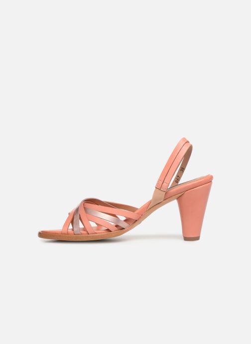 Sandales et nu-pieds Neosens MONTUA S967 Rose vue face