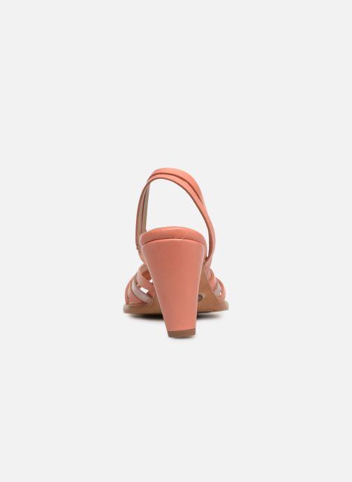 Sandales et nu-pieds Neosens MONTUA S967 Rose vue droite