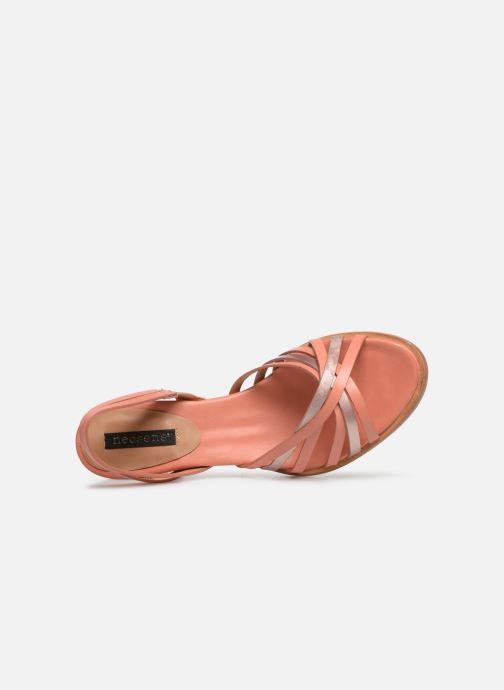 Sandales et nu-pieds Neosens MONTUA S967 Rose vue gauche