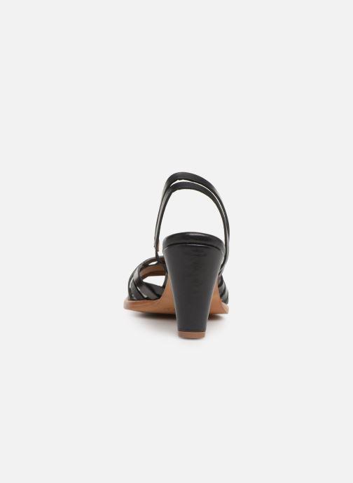 Sandales et nu-pieds Neosens MONTUA S967 Noir vue droite