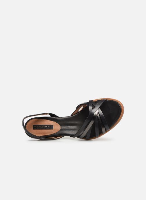 Sandalen Neosens MONTUA S967 schwarz ansicht von links