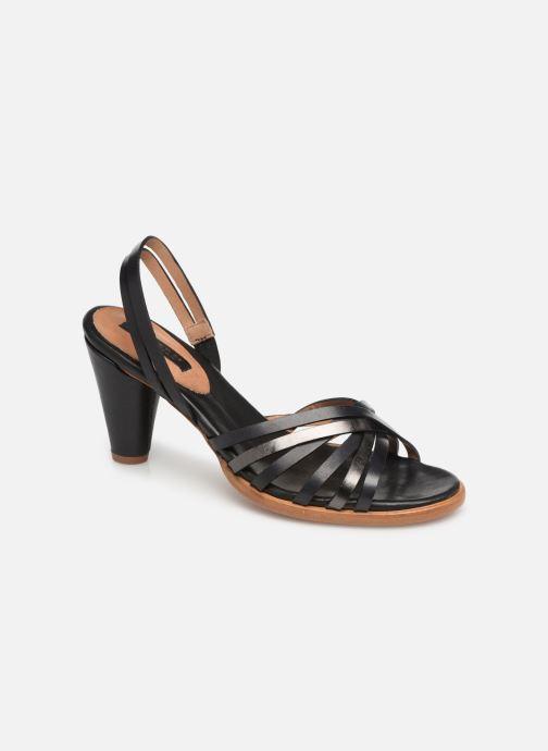 Sandales et nu-pieds Neosens MONTUA S967 Noir vue détail/paire