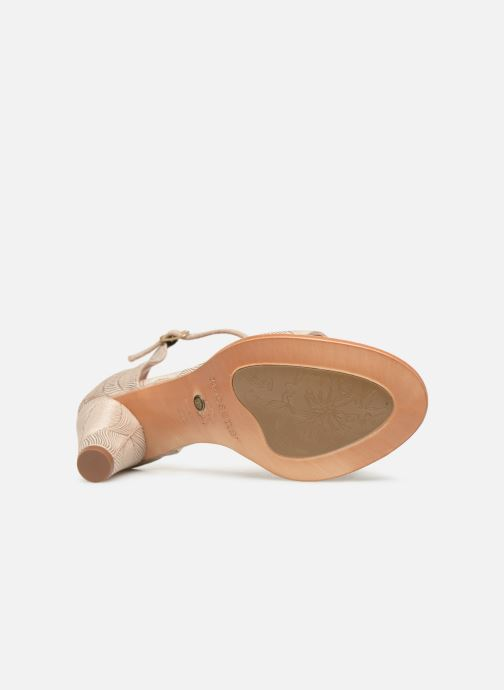 Sandals Neosens MONTUA S990 Beige view from above