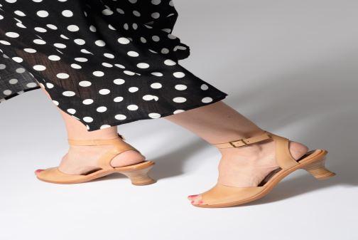 Sandales et nu-pieds Neosens NEGREDA S984 Beige vue bas / vue portée sac