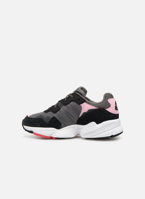 Sneakers adidas originals Yung-96 J Grijs voorkant