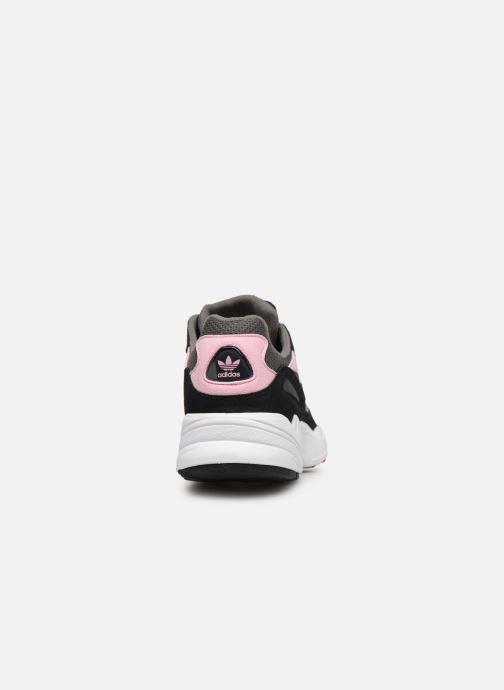Sneakers adidas originals Yung-96 J Grijs rechts