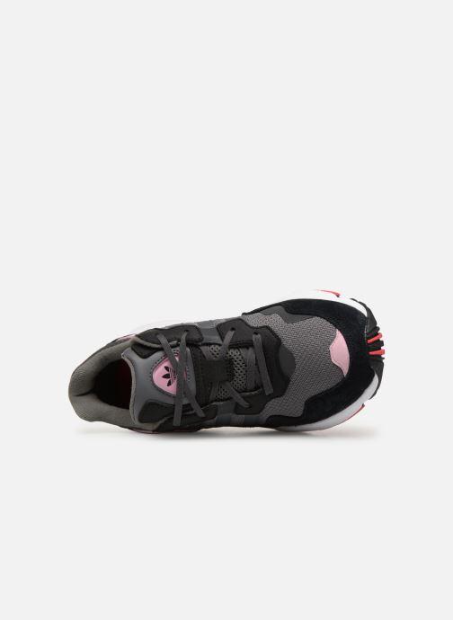 Baskets adidas originals Yung-96 J Gris vue gauche