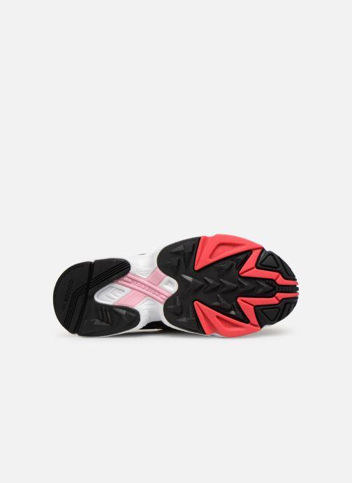 Baskets adidas originals Yung-96 J Gris vue haut